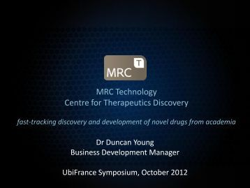 Fastracking Discovery and Development of Novel Drugs from ...