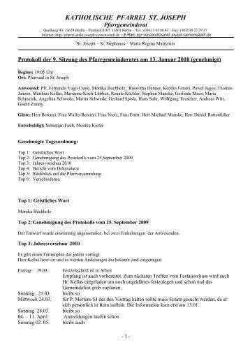 Download pgr-protokoll-2010-01-13_genehmigt.pdf - Katholische ...