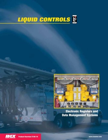 Electronic Product Overview - Liquid Controls