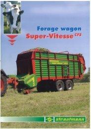 Super Vitesse CFS Range - Reco