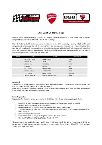 2011 Ducati UK 848 Challenge Rider Letter v7