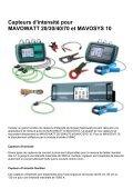Capteurs d'intensité pour MAVOWATT20304070 & MAVOSYS10 - Page 2