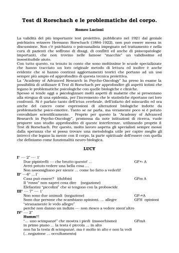 Lettura del test di rorschach wikimotorio - Test di rorschach tavola 1 ...