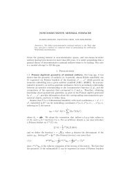 NONCOMMUTATIVE MINIMAL SURFACES Given the ... - KIAS