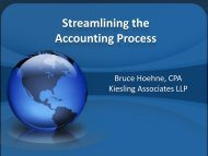 Streamlining the Accounting Process - Competitive Carriers ...