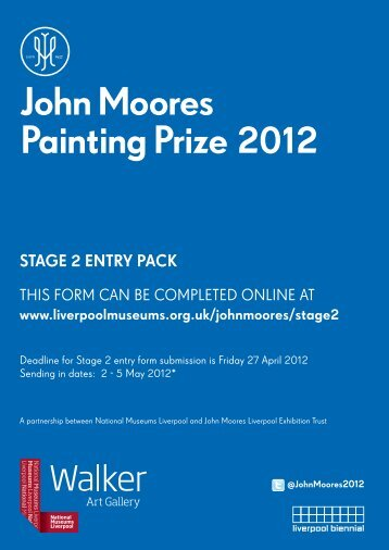 stage 2 entry pack - National Museums Liverpool