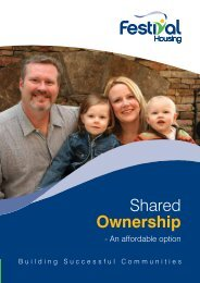 Information on Shared Ownership - Festival Housing