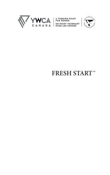 YWCA Fresh Start start 3:Layout 1 - YWCA Canada
