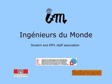 Ingénieurs du Monde - Cooperation at EPFL