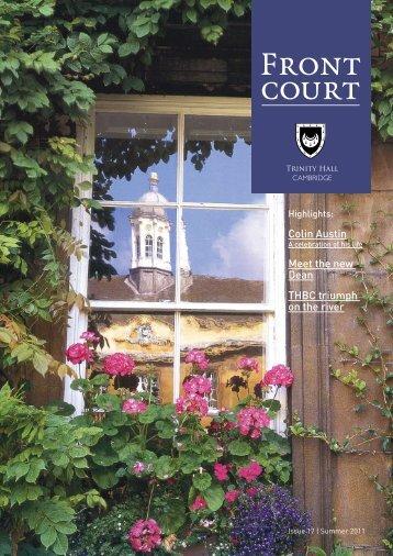 Front Court 2011 - Trinity Hall - University of Cambridge