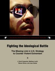 Fighting the Ideological Battle - The Washington Institute for Near ...