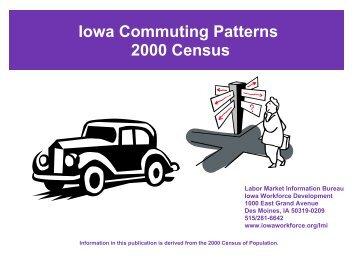 Iowa Commuting Patterns 2000 - Iowa Workforce Development