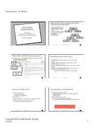 Java, Java, Java R. Morelli Copyright 2000 by Ralph Morelli. All ...