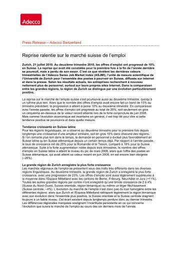 Global Newswire - Adecco Switzerland