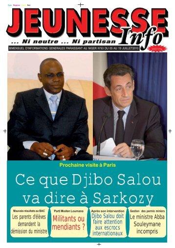 Jeunesse Info n°63.pmd - Nigerdiaspora