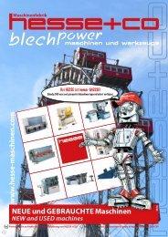 NEUE und GEBRAUCHTE Maschinen - HESSE+CO ...