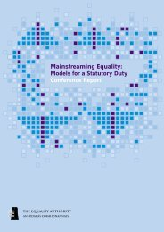 Mainstreaming Equality Conference Report.pdf - Equality Authority