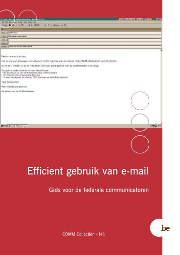 Brochure Courrier N - Fedweb - Belgium