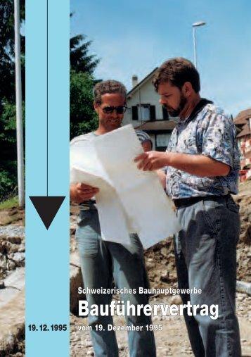 Bauhauptgewerbe Baufuehrer GAV 1995 A2008