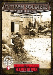 US Infantry Division in Normandy & Brittany, June - Flames of War