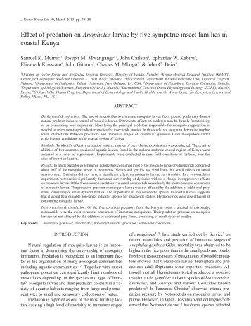 PDF Reprint - National Institute of Malaria Research