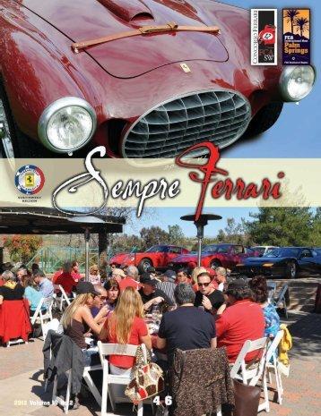 Volume 19 Issue 2 - April-June 2012 - Ferrari Club of America ...