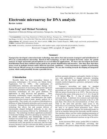 Get PDF - Gene Therapy & Molecular Biology