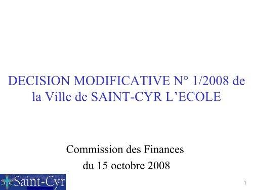Commission des finances 15 10 2008