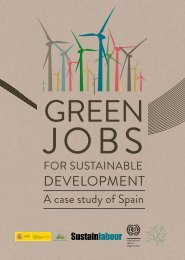 Green jobs for sustainable development. A case study of Spain, pdf ...