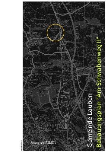 textlicher Teil (PDF - 1,85 MB) - Gemeinde Lauben