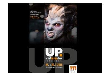 Präsentation - make-up artist design show