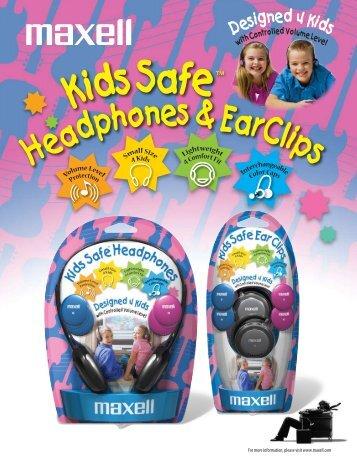 Kids Safe - Maxell USA