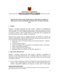Arsimi-fillor-Prog-kualifikimi-2013 - Instituti i Zhvillimit te Arsimit