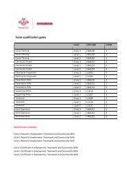 Team qualification guide