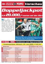Doppeljackpot - win2day