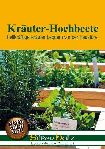 Kräuter-Hochbeete - SilberHolz