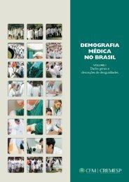 Demografia Médica no Brasil - Instituto Brasileiro Para Estudo e ...