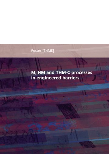 Poster [THME] : M, HM and THM-C processes in engineered ... - Andra