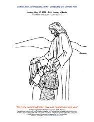 Coloring Page - Catholic Mom