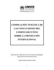 compilación temática de las conclusiones del comité ... - Acnur