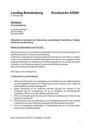 Landtag Brandenburg Drucksache 5/5264 - Brandenburg.de