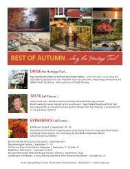 Best of Autumn Along the Heritage Trail ideas! - Amish Country