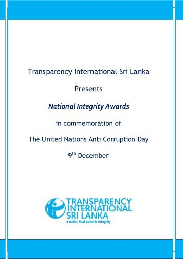 English - Transparency International Sri Lanka