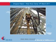 Dropped Object – Kelly Hose Clamp 15th March ... - Drillsafe.org.au