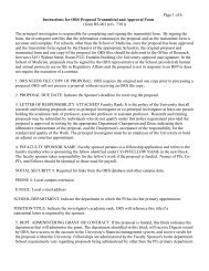Page 1 of 6 Instructions for ORS Proposal Transmittal and Approval ...