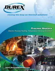 Process Heaters - Durex Industries