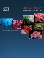 Annual Report - Ocean Science Trust