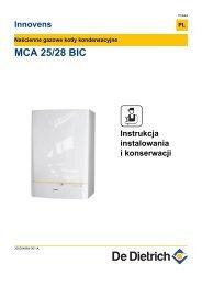 MCA 25/28 BIC - De Dietrich