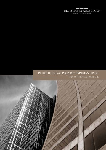 ipp institutional property partners fund i - Heiter Investment