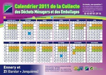 Calendrier 2011 - Ennery